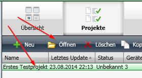 ETS4 Lite Projekte anlegen