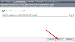 ETS4 Lite, Katalog importieren, Dateiauswahl