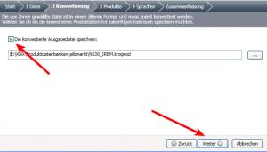 ETS4 Lite, Katalog importieren, Datei konvertieren.