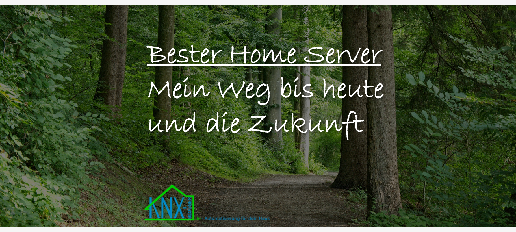 der beste Home Server Titelbild