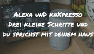 Alexa und knXpresso titelbild