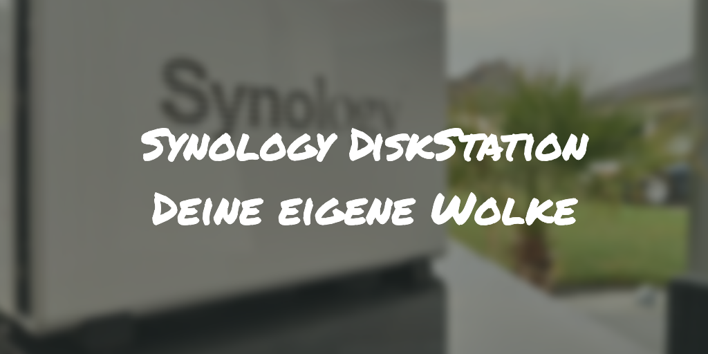 Synology DiskStation Titelbild