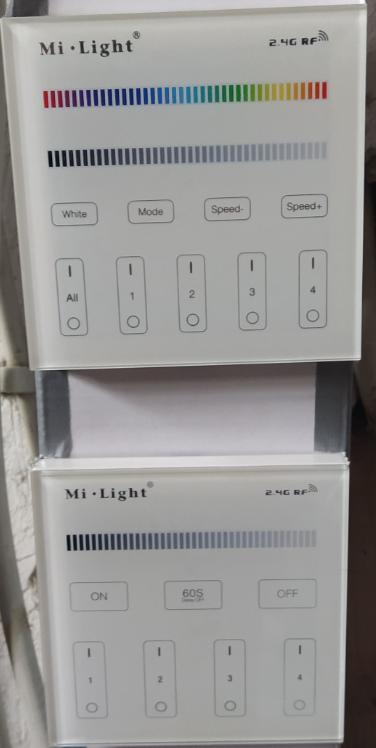 Mi-Light - Taster, erste Erfahrungen